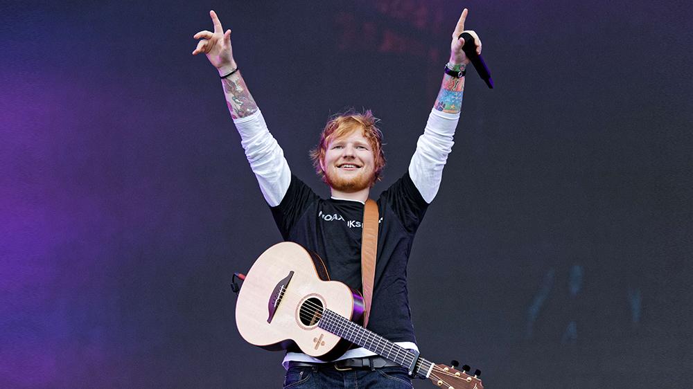 20 kilót adott le Ed Sheeran